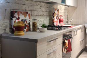 Möbelaufbau, Küche