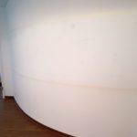 Fliesenarbeiten, Wand, vorher